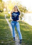 Farm Chick dames T-shirt