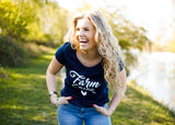 Farm Chick dames T-shirt