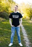 Zwart T-shirt Melk de Koe, Niet de Boer