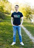 Zwart T-shirt Goed op de Trekker