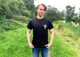 Zwart T-shirt Zonder Smering gaat alles naar de Tering 2