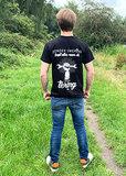 Zwart T-shirt Zonder Smering gaat alles naar de Tering 4