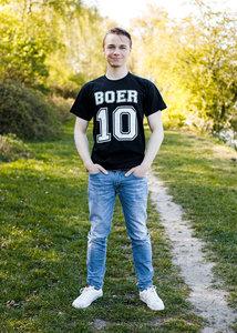 Zwart T-shirt Boer 10 - Agri Trader